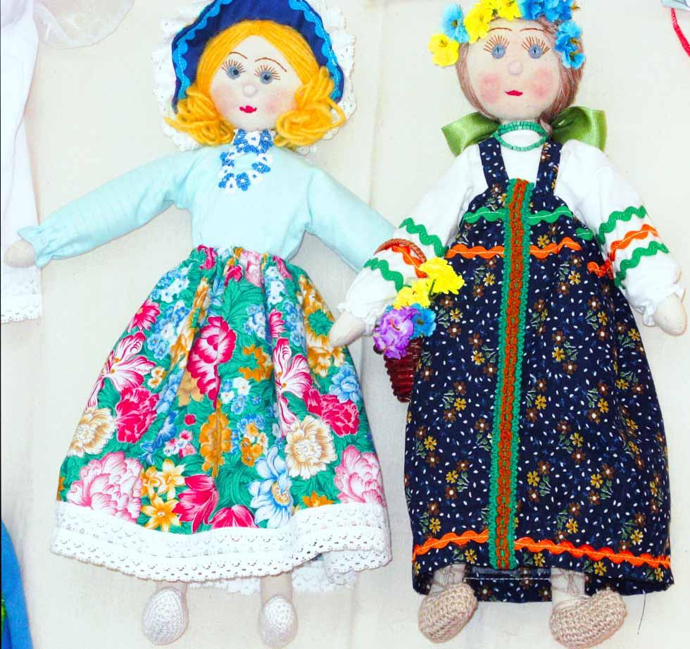 Русская народная кукла своими руками выкройка